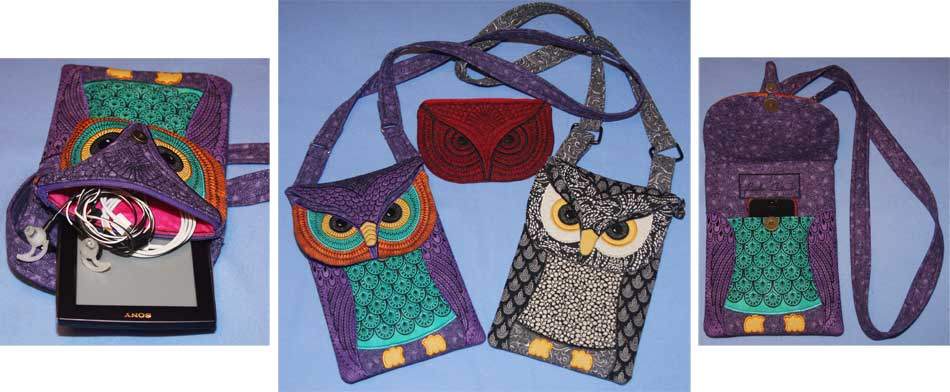 Whooo's Got Your Reader? Owl Mini-Reader Bag or Purse
