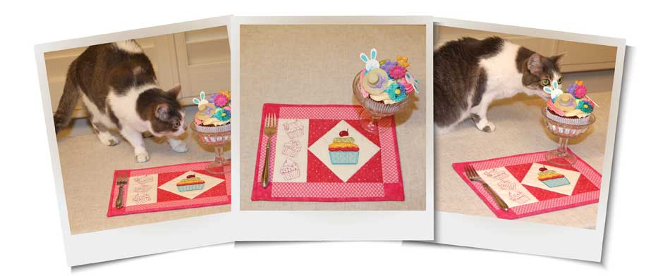 Fun & Fast Cupcake Snack Mat Project