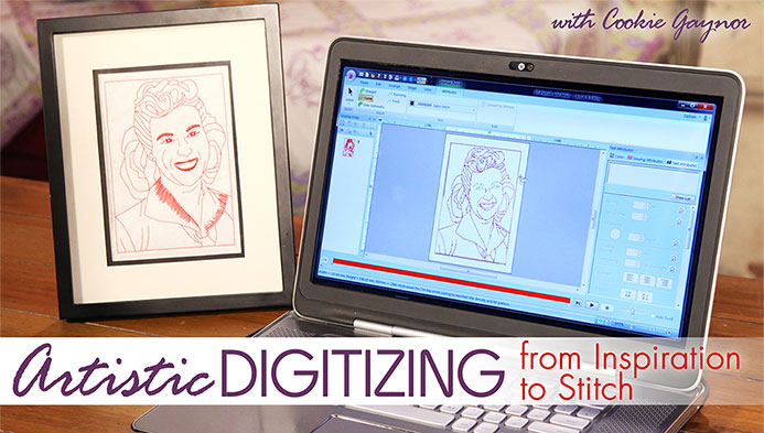 Artistic Digitizing: From Inspiration to Stitch with Cookie Gaynor