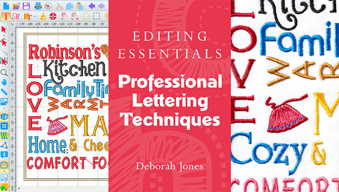 Editing Essentials: Professional Lettering Techniques with Deborah Jones