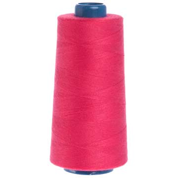 Cone of embroidery thread