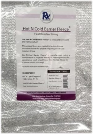RNK Hot N Cold Barrier Fleece, batting