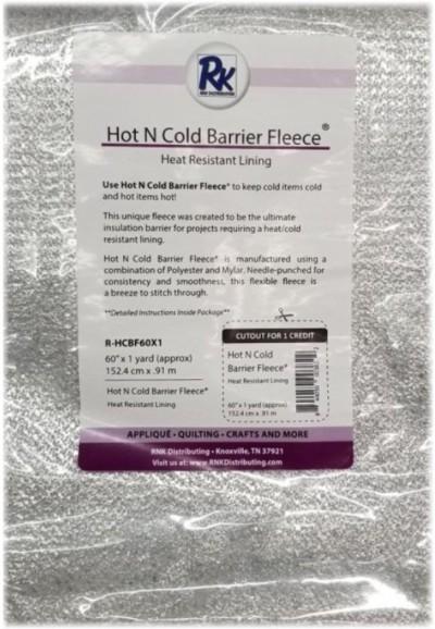 RNK Hot N Cold Barrier Fleece, batting
