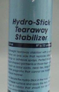 Hydrostick Embroidery Machine Stabilizer