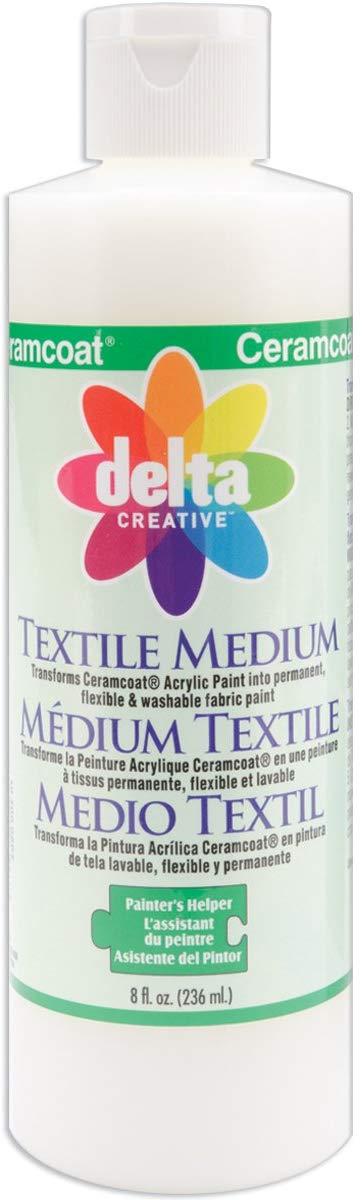 Delta Creative Ceramcoat Textile Medium (8-Ounce)