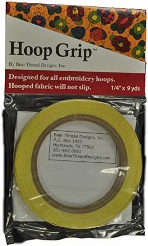 Hoop Grip Sewing Tape 1/4 in x 9 yards