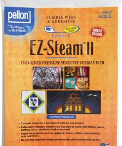 Pellon EZ Steam II 12″X9″ Sheets 5/PKG-White