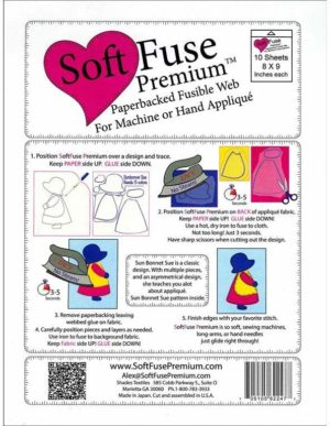 Soft Fuse Paperbacked Fusible Web
