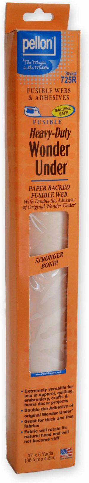 Wonder Under Fusible Web White 15 inch x 2 Yard Bulk Buy (3-Pack)