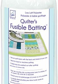 June Tailor Quilt Low Loft Fusible Batting, 36 x 45″