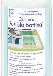 June Tailor Quilt Low Loft Fusible Batting, 36 x 45″