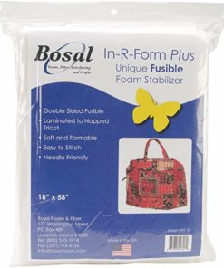 Bosal In-R-Form Double Sided Fusible Foam Stabilizer, 18×58-Inch