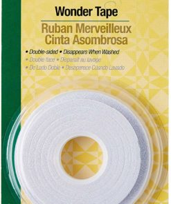Dritz Quilting Wash-A-Way Wonder Tape, 1/4-Inch x 25-Yards