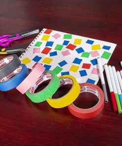 Multi Colored Painters Masking Tape