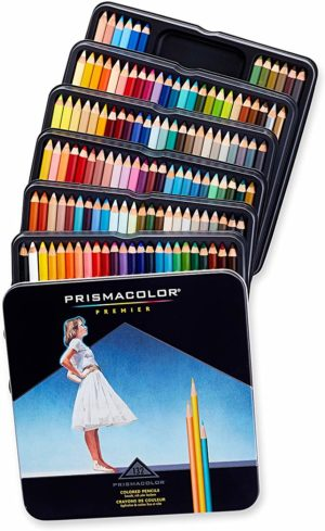 Prismacolor Premier Colored Pencils, Soft Core, 132 Pack
