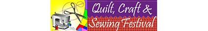 Quilt, Craft, & Sewing Festival logo