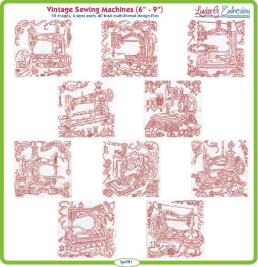 (lgs081) Vintage Sewing Machines