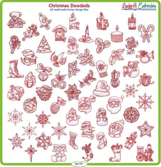 (lgs105) Christmas Doodads