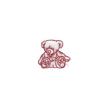 (lgs10501) Bear (1.7 x 1.5-in)