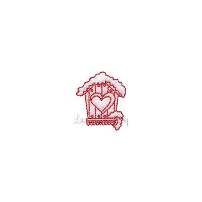 (lgs10504) Birdhouse (1.4 x 1.7-in)