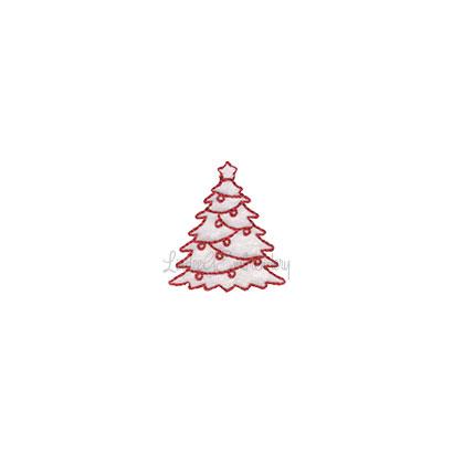 (lgs10513) Christmas Tree (1.5 x 1.7-in)