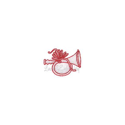 (lgs10520) Horn (1.7 x 1.3-in)