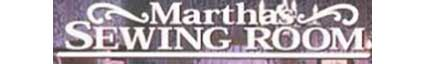 Martha's Sewing Room logo