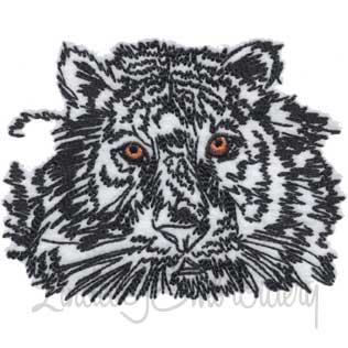 Sketchy Tiger (4.3 x 3.3-in)