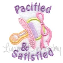 Pacified & Satisfied (2.2 x 2.8-in)