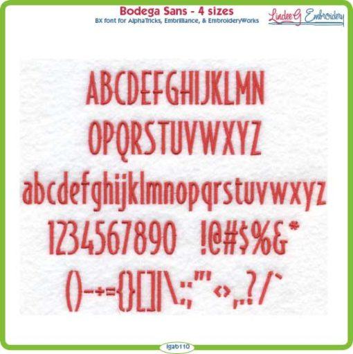 Bodega Sans Font