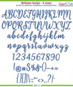 Brilliant Script Font
