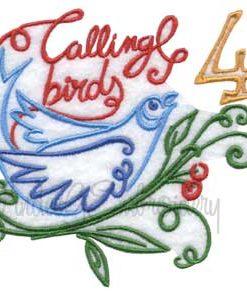 4 Calling Birds (3.9-in)