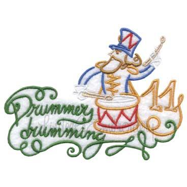 11 Drummers Drumming (5 x 3
