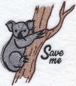 Save the Koalas Donation (3.5 x 3.9-in)