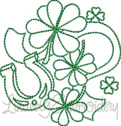 Shamrocks & Horseshoe 1