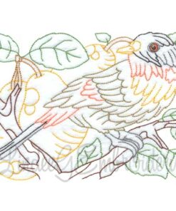 Bird with Pears Multicolor