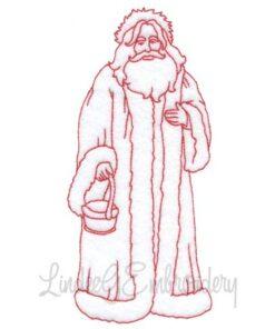 Santa Holding Basket