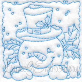 Snowman Block 1