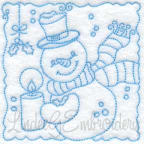 Snowman Block 6