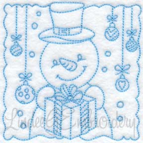 Snowman Block 7