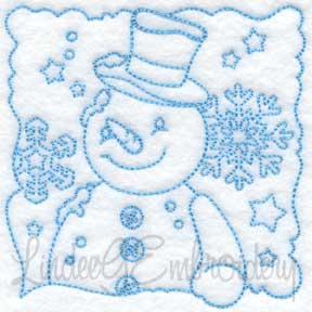 Snowman Block 8