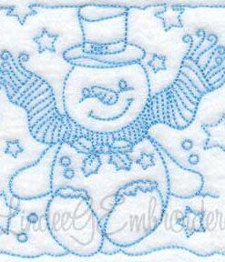 Snowman Block 9