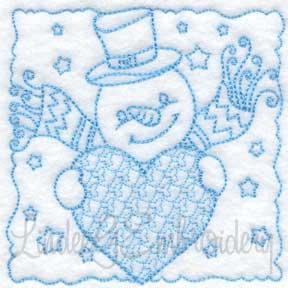 Snowman Block 10