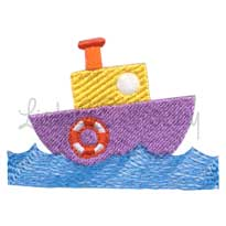Boat 3 (2.7 x 1.9-in)