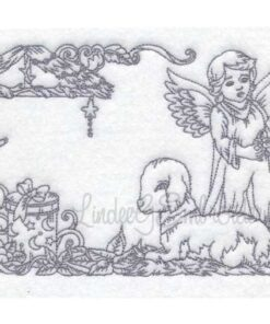 Angel with Lamb (6 sizes)