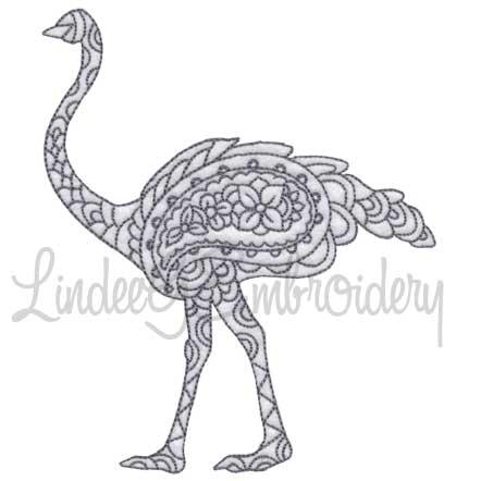 Ostrich - multi-size