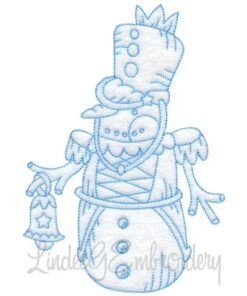 Snowman with Bell (4 sizes)