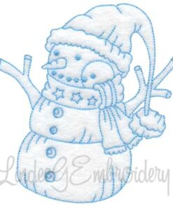 Snowman with Lamp (4 sizes)