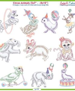 Circus Animals (4 sizes)