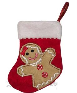 Gingergirl Stocking (4.6 x 5.9-in)